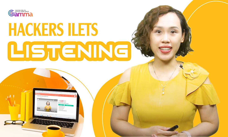 Hackers Ielts: Listening (Khóa học)