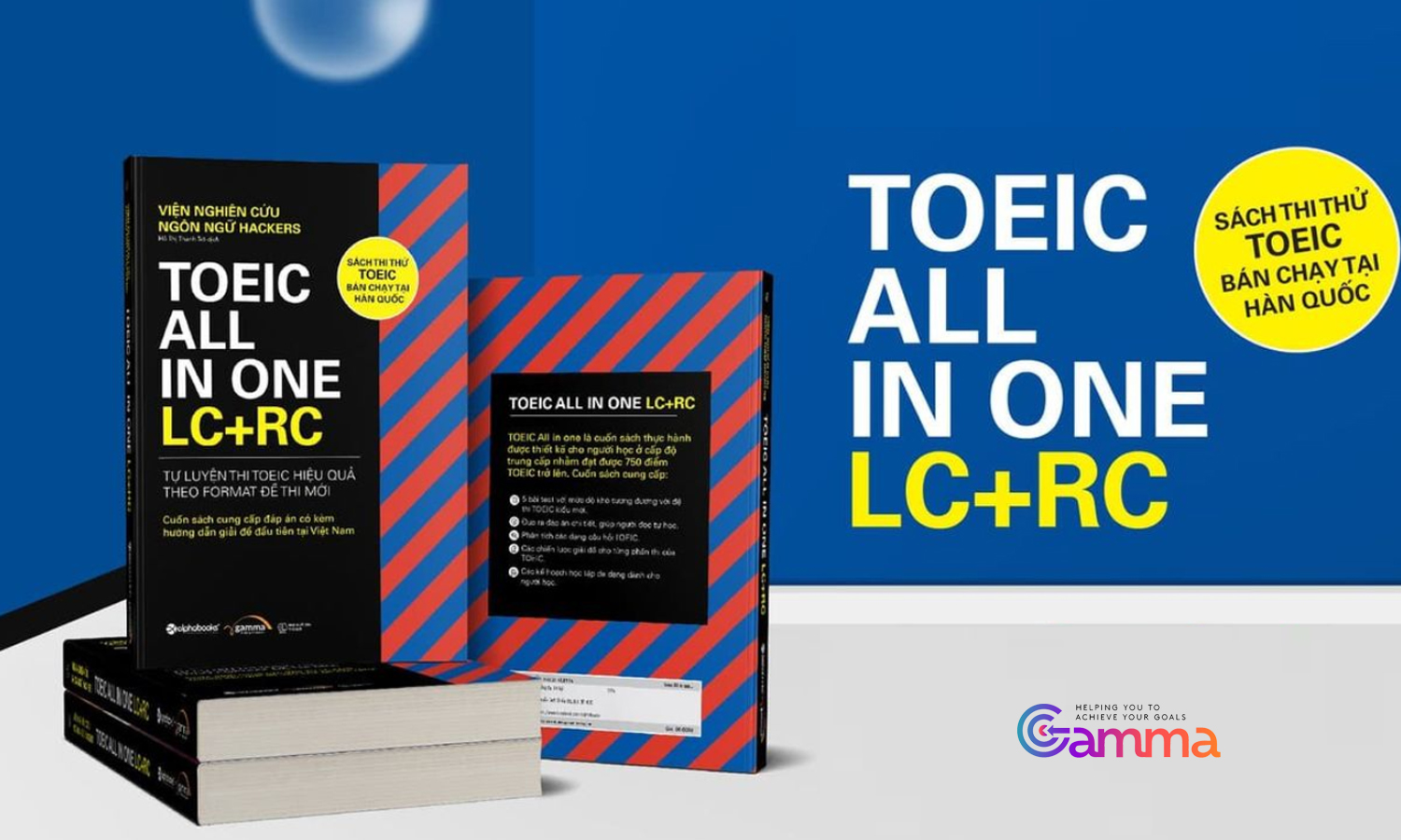 Toeic All in one LC +RC (Sách)